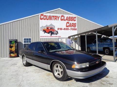 used 1995 chevrolet impala for sale carsforsale com used 1995 chevrolet impala for sale