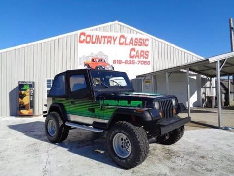 1993 Jeep Wrangler for sale in Staunton, IL