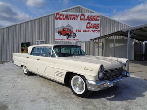 1960 Lincoln Continental For Sale Carsforsale Com