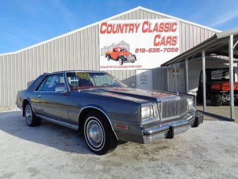 1983 Chrysler Cordoba for sale in Staunton, IL