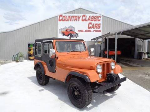 1977 Jeep CJ-5 for sale in Staunton, IL