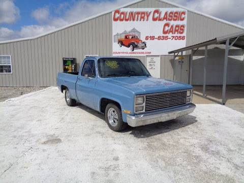 Used 1986 Chevrolet C K 10 Series For Sale Carsforsale Com