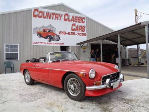 1972 MG MGB for sale in Staunton, IL
