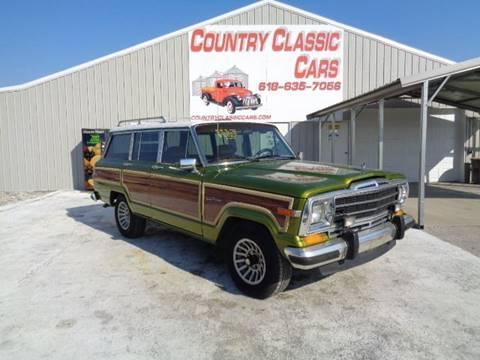 1988 Jeep Grand Wagoneer for sale in Staunton, IL