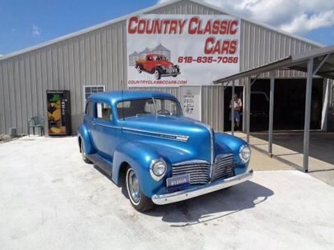 1941 Hudson Six