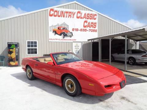 1992 Pontiac Firebird for sale in Staunton, IL