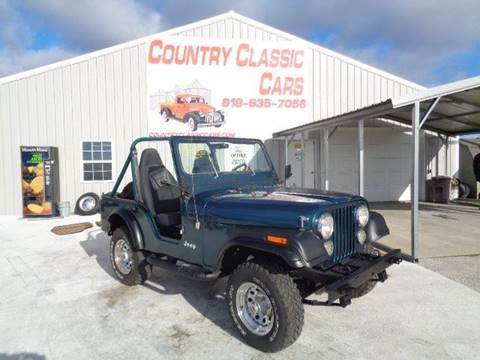 1978 Jeep CJ-5 for sale in Staunton, IL