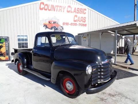 1952 Chevrolet 3100 for sale in Staunton, IL