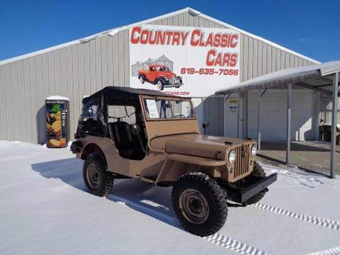 Willys Jeep For Sale >> 1946 Willys Jeep For Sale In Staunton Il