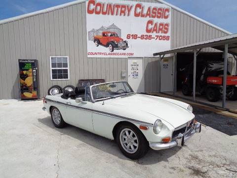 1973 MG MGB for sale in Staunton, IL