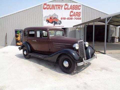 1934 Chevrolet Master Deluxe for sale in Staunton, IL