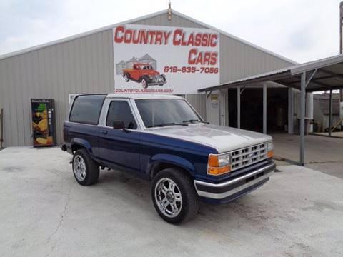 1989 Ford Bronco II for sale in Staunton, IL