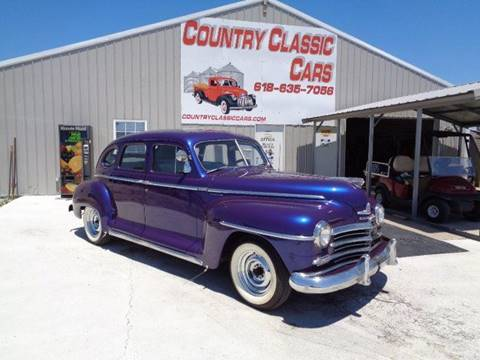1948 Plymouth Deluxe for sale in Staunton, IL