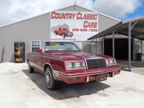 1984 Chrysler Le Baron for sale in Staunton, IL