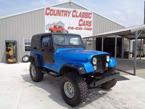Cj7 Jeep For Sale >> 1976 Jeep Cj 7 For Sale In Staunton Il