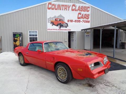 1977 Pontiac Firebird Trans Am for sale in Staunton, IL