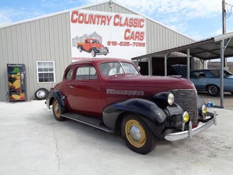 1939 Chevrolet Master Deluxe for sale in Staunton, IL