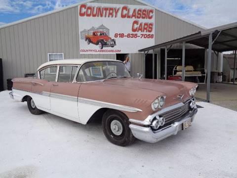 1958 Chevrolet Biscayne for sale in Staunton, IL