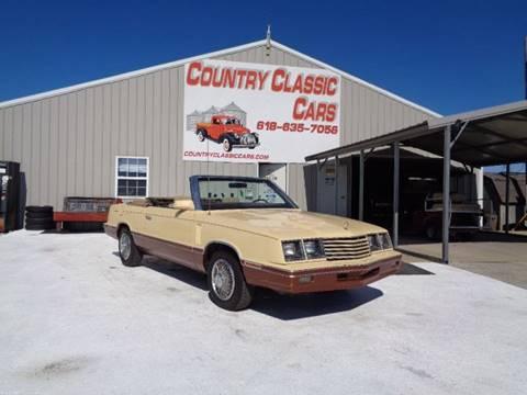 1983 Dodge 400 for sale in Staunton, IL