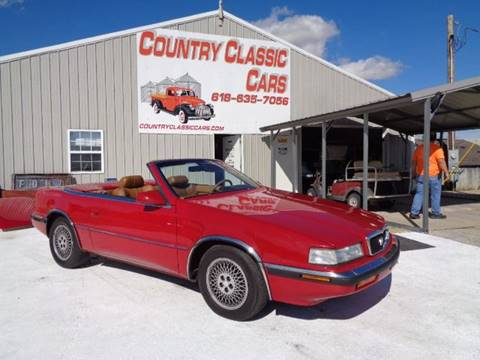 1989 Chrysler TC for sale in Staunton, IL