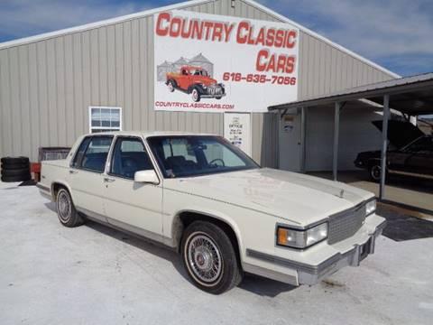 1988 Cadillac DeVille for sale in Staunton, IL