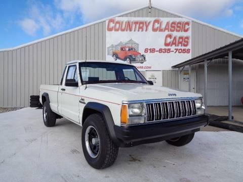 1986 Jeep Comanche for sale in Staunton, IL