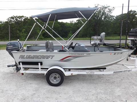 2011 Alumacraft Fisherman 145