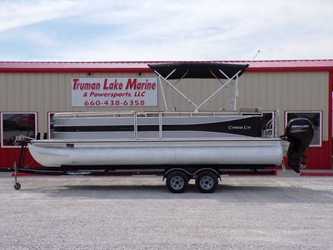 2014 Cypress Cay Tri-Toon 250 for sale in Warsaw, MO