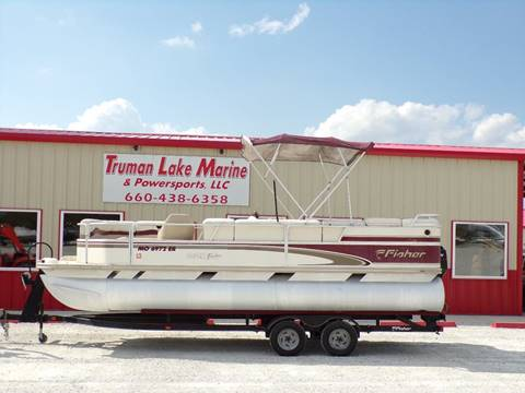 2000 Fisher 220 Freedom Pontoon