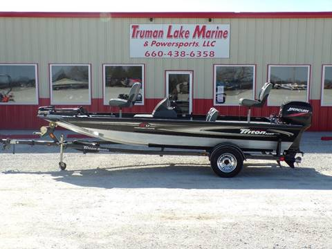 2007 Triton TC17 for sale in Warsaw, MO