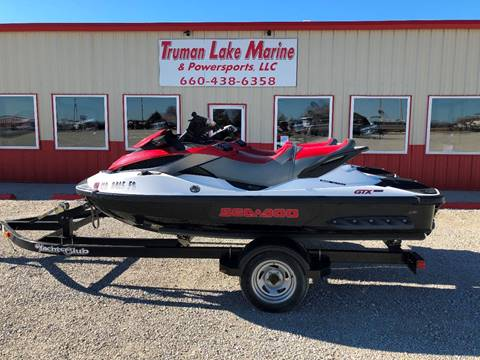 2010 Sea-Doo GTX 155 & 215 for sale in Warsaw, MO