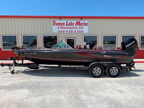 2017 Triton 220 Escape for sale in Warsaw, MO