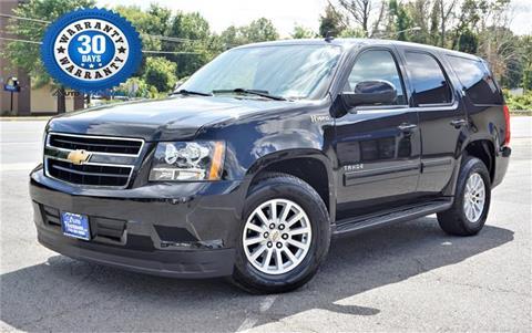 2012 Chevrolet Tahoe Hybrid for sale in Manassas, VA