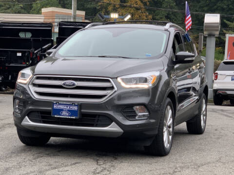 2018 Ford Escape for sale at Westchester Automotive in Scarsdale NY