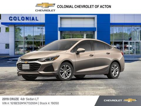 2019 Chevrolet Cruze for sale in Acton, MA