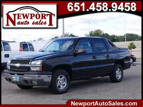 2003 Chevrolet Avalanche for sale in Newport, MN