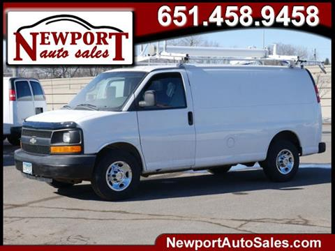 2009 Chevrolet Express Cargo for sale in Newport, MN