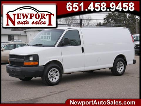 2012 Chevrolet Express Cargo for sale in Newport, MN