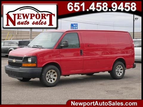 2010 Chevrolet Express Cargo for sale in Newport, MN
