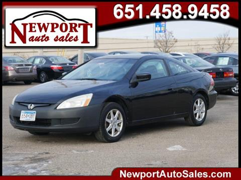 2003 Honda Accord for sale in Newport, MN