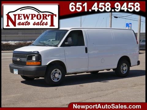 322a3d4b68 2011 Chevrolet Express Cargo for sale in Newport
