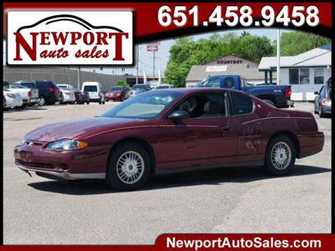 2001 Chevrolet Monte Carlo for sale in Newport, MN