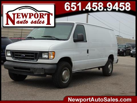 2003 Ford E-Series Cargo for sale in Newport, MN