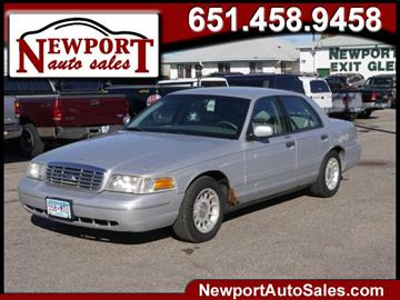1999 Ford Crown Victoria for sale in Newport, MN