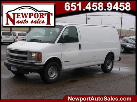 1999 Chevrolet Express Cargo for sale in Newport, MN