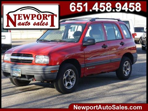 2001 Chevrolet Tracker for sale in Newport, MN