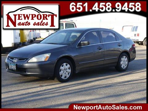 2004 Honda Accord for sale in Newport, MN
