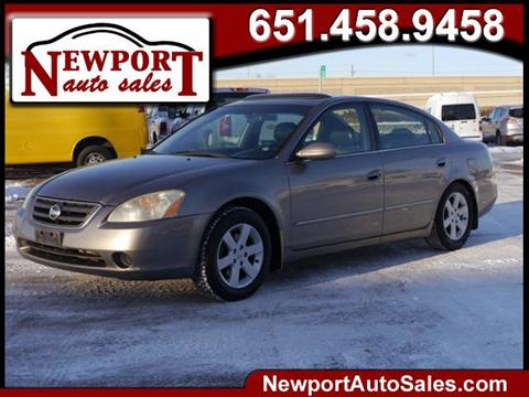 2002 Nissan Altima for sale in Newport, MN