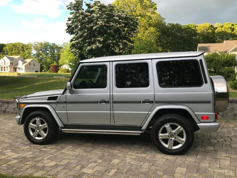 2007 Mercedes-Benz G-Class AWD G 500 4MATIC 4dr SUV - Upton MA