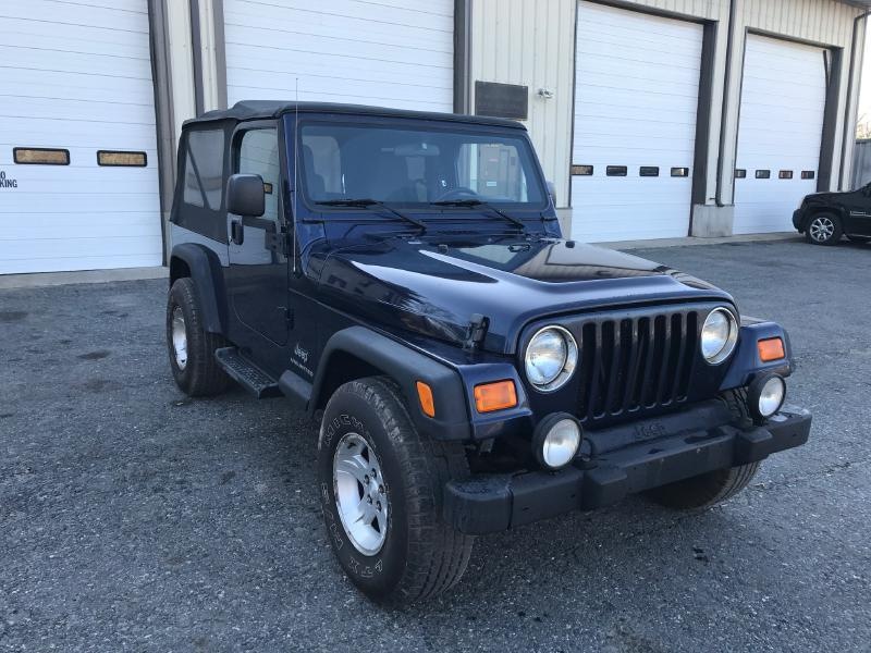 2006 Jeep Wrangler Unlimited 2dr SUV 4WD - Upton MA